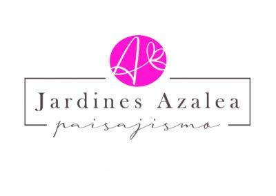 "Logotipo "" Jardines Azalea"""